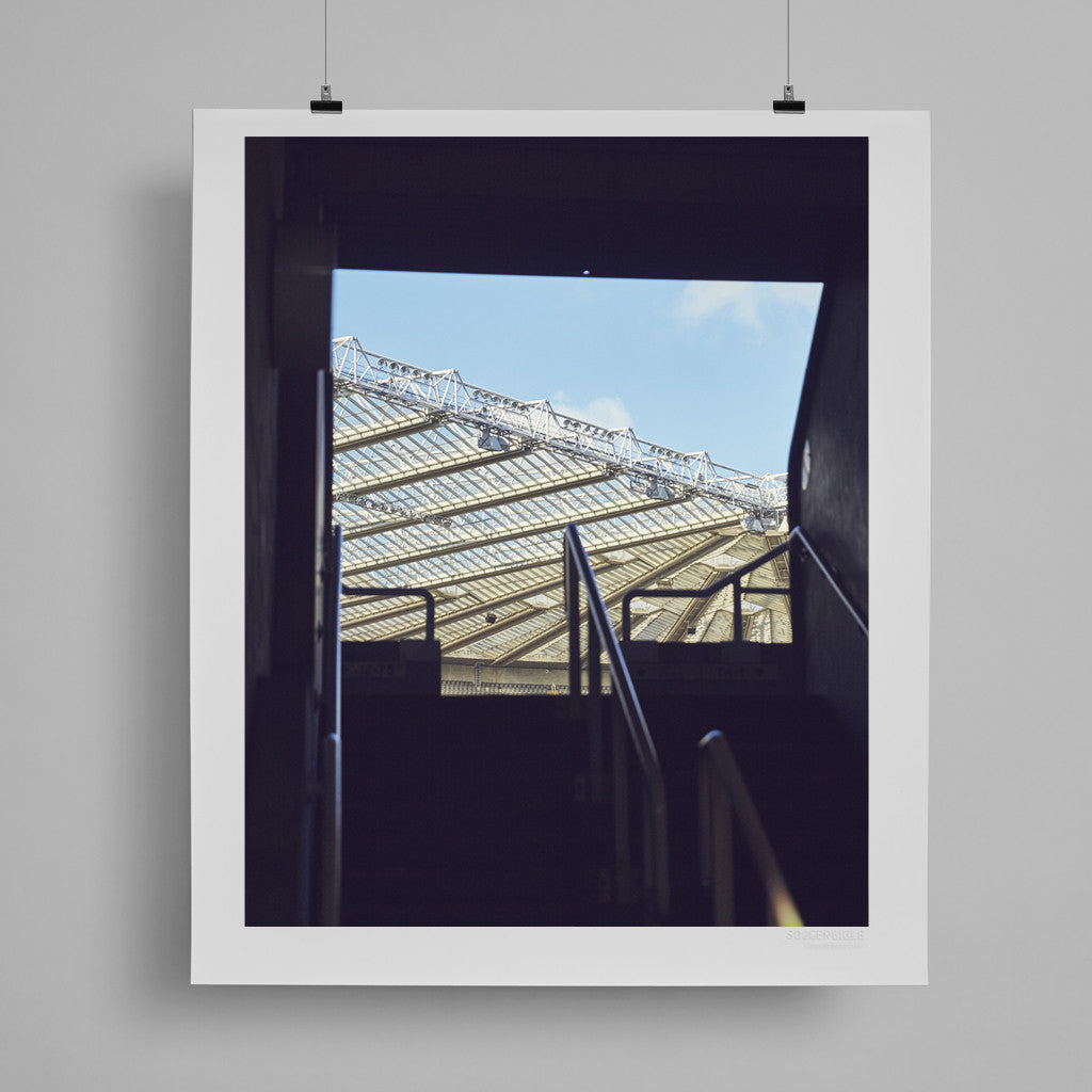 SoccerBible Print - Skyscraping