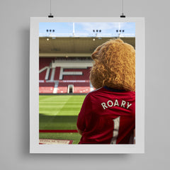 SoccerBible Print - Lion in Waiting