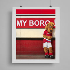 SoccerBible Print - My Boro