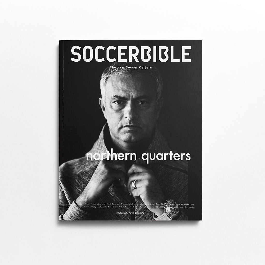 Soccerbible Magazine Issue 7 Jose Mourinho Cover