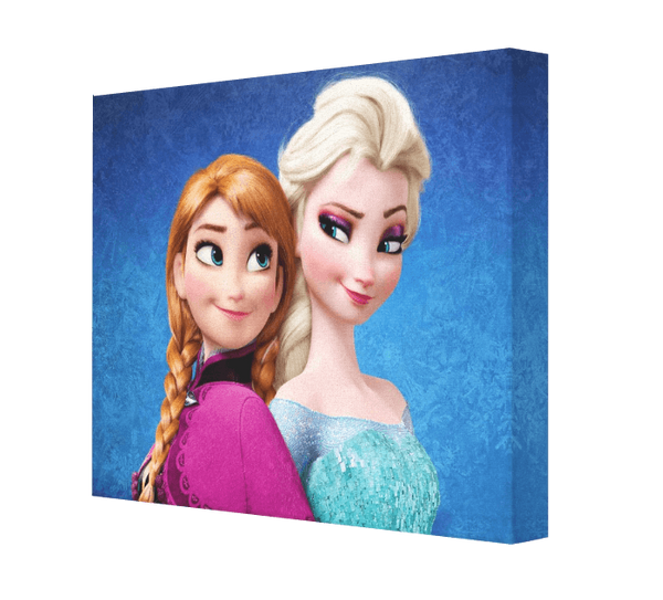 Anna & Elsa Canvas - Pics On Canvas