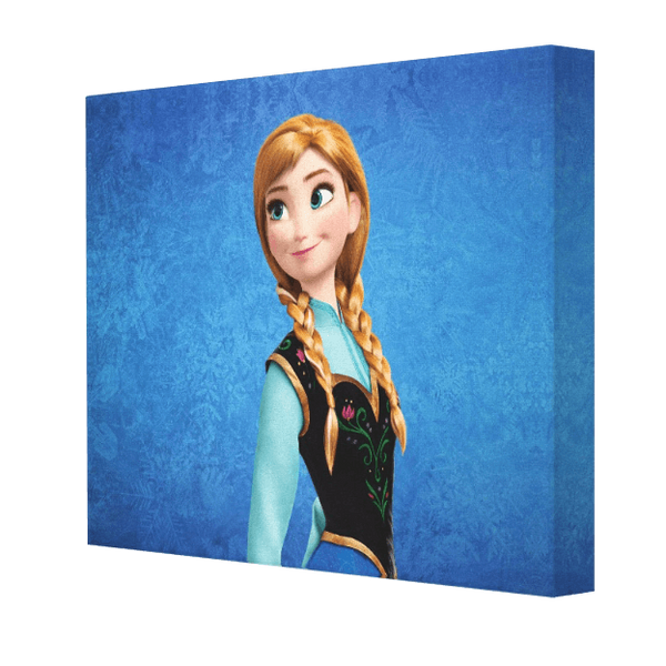 Anna Frozen Canvas - Pics On Canvas