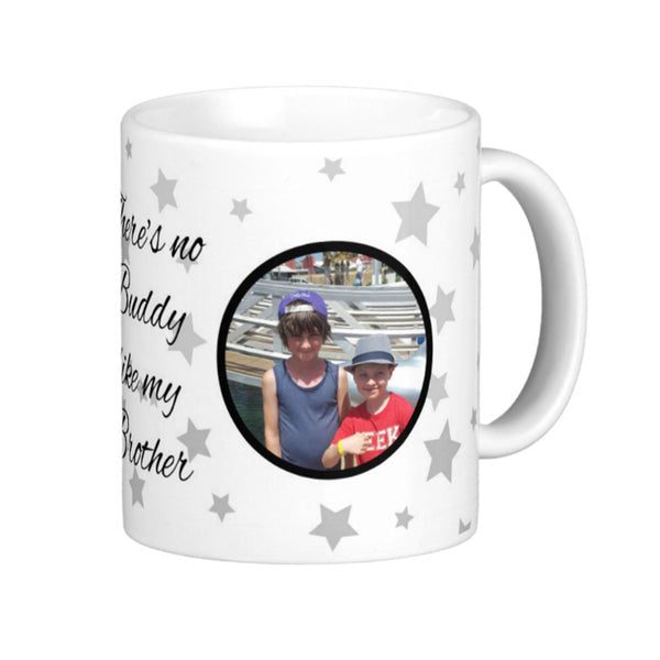 Personalised Brother Mug - Pics On Canvas