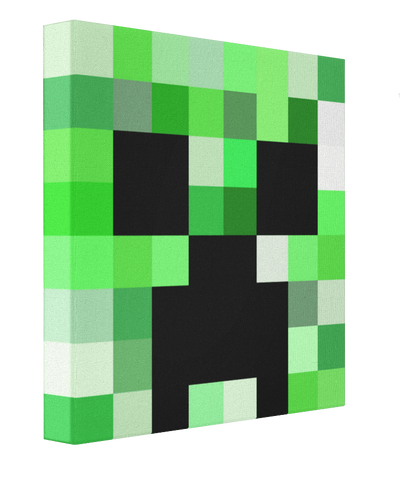 Minecraft Creeper - Pics On Canvas