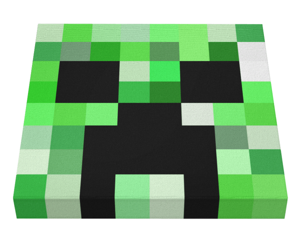 Minecraft Creeper Canvas Minecraft Creeper Creeper