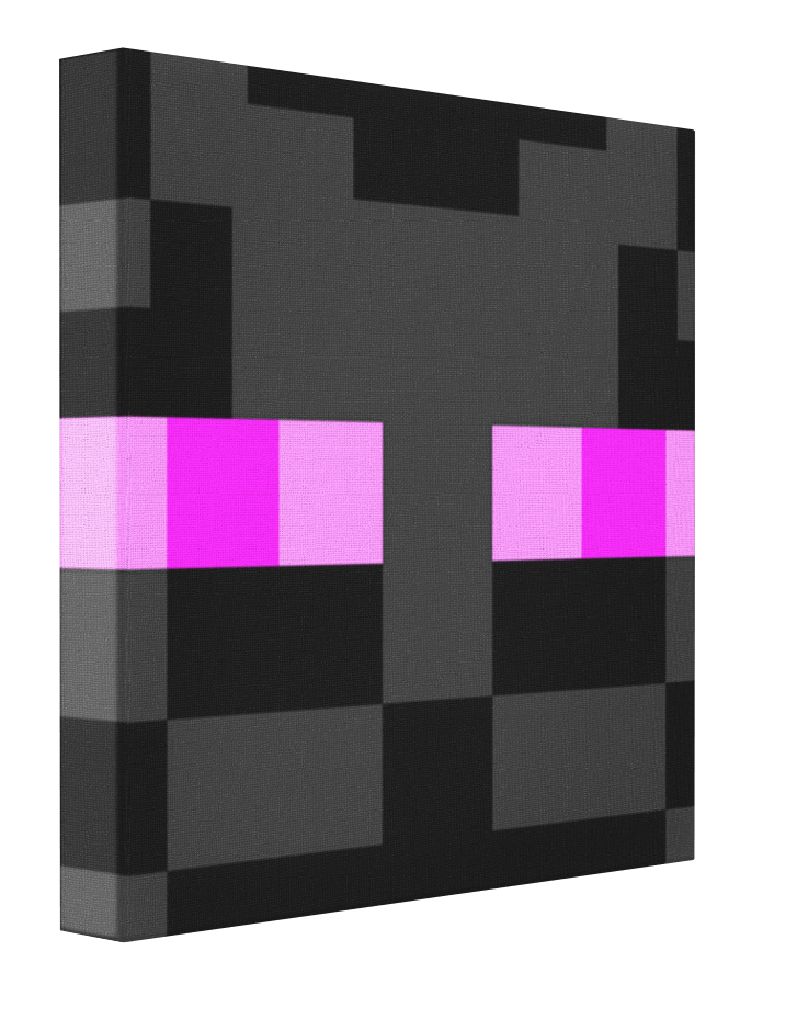Minecraft Enderman Canvas | Minecraft Enderman | Enderman ...