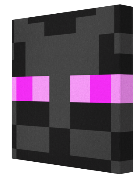 Minecraft Enderman - Pics On Canvas