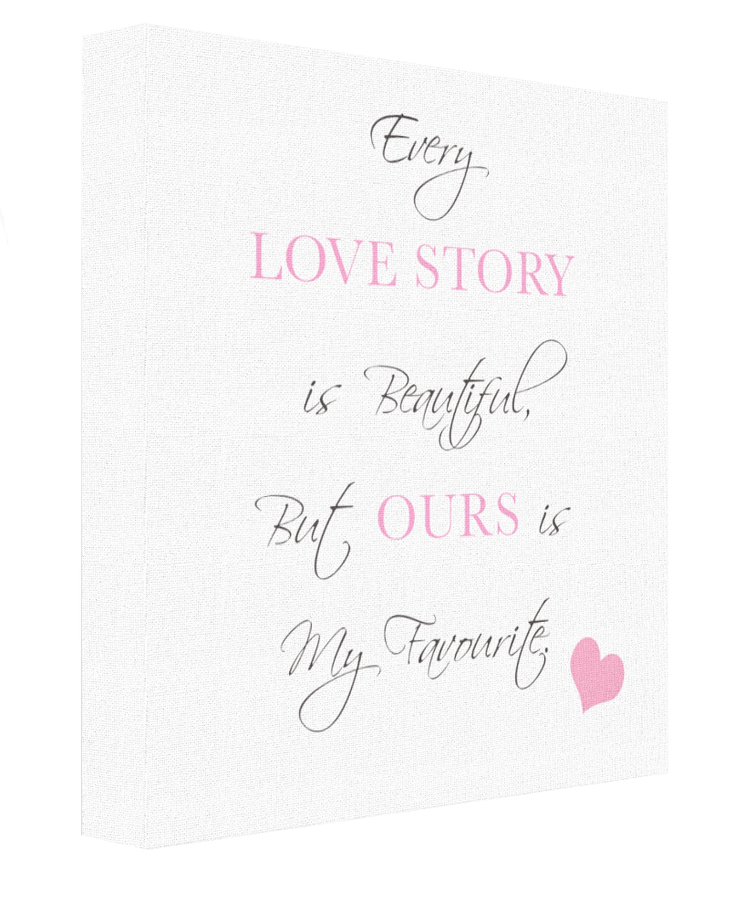 Every Love Story Canvas - Pics On Canvas