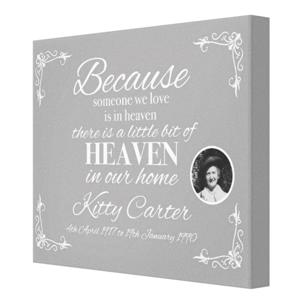 Heaven in our Home - Pics On Canvas