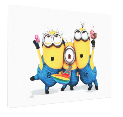 Minions Canvas 2 - Pics On Canvas