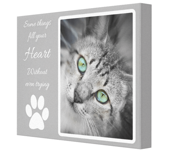 Heart My Pet Canvas - Pics On Canvas