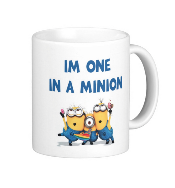 One in a Minion Mug - Pics On Canvas