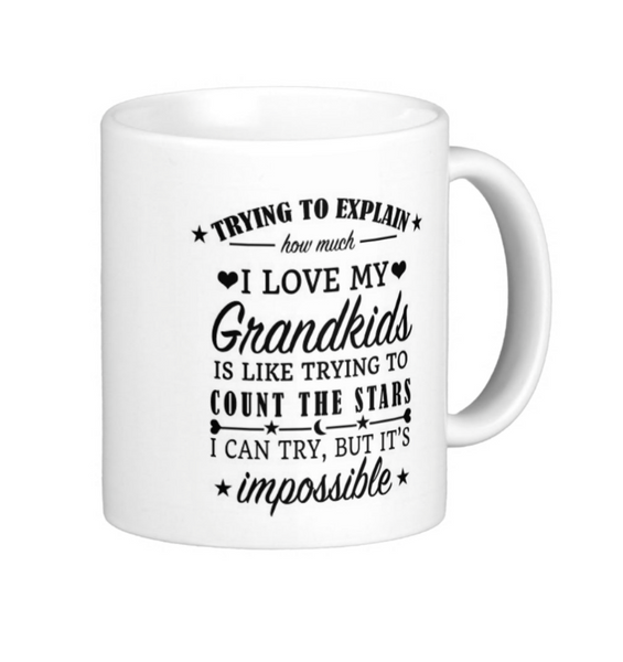 Grandkids Mug - Pics On Canvas