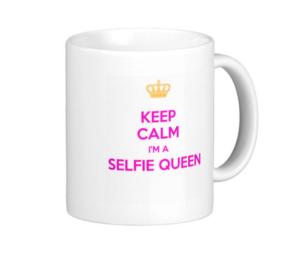 Selfie Queen Mug - Pics On Canvas