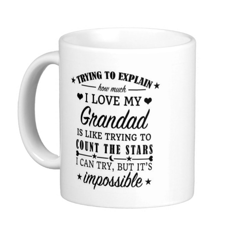 Grandad Mug - Pics On Canvas