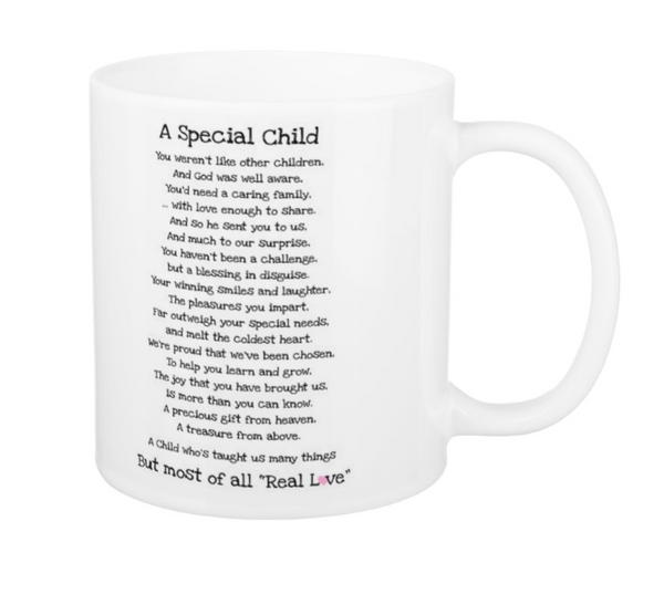 Special Child Mug - Pics On Canvas
