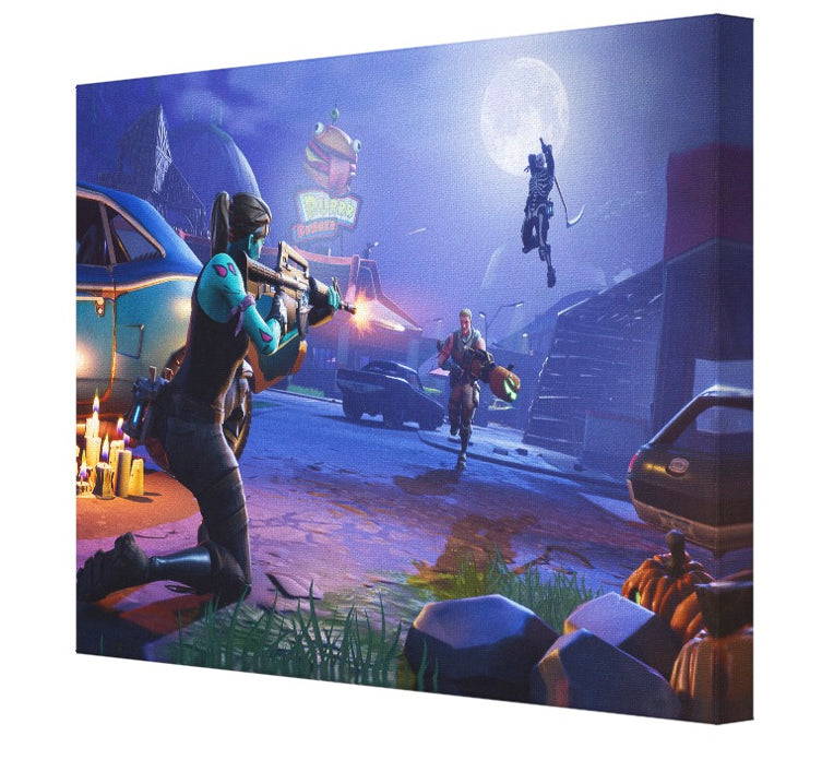 Fortnite Halloween Scene