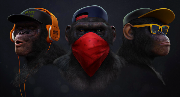 3 Wise Monkey's Range