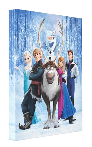 Frozen Movie Canvas