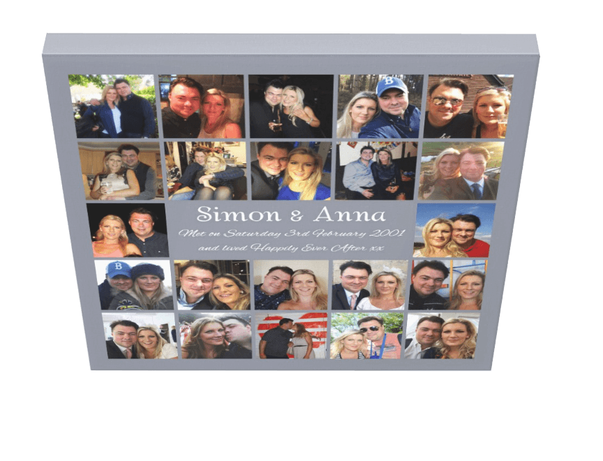 Our Love Story - Pics On Canvas