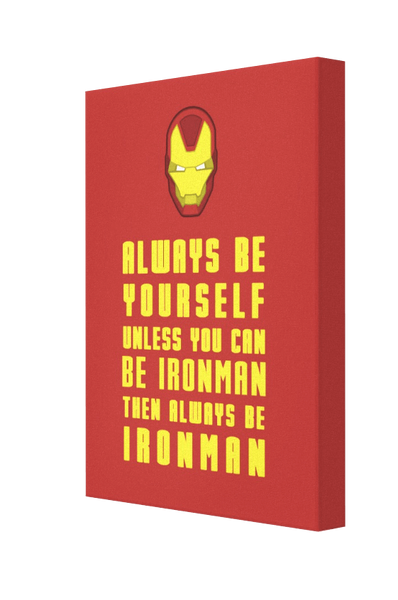 Be Ironman v2 Canvas - Pics On Canvas