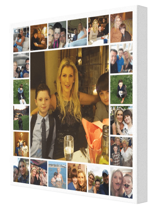 21 image tile collage canvas your photos to canvas pics on canvas