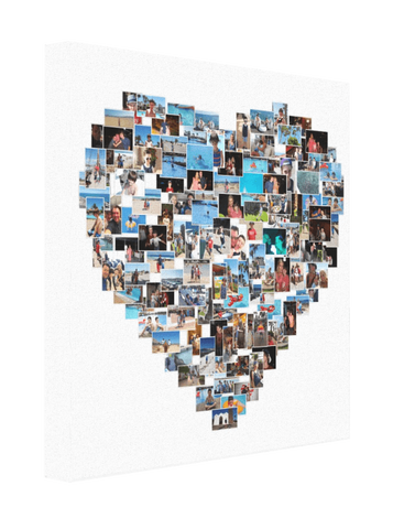 Heart Shape Collage