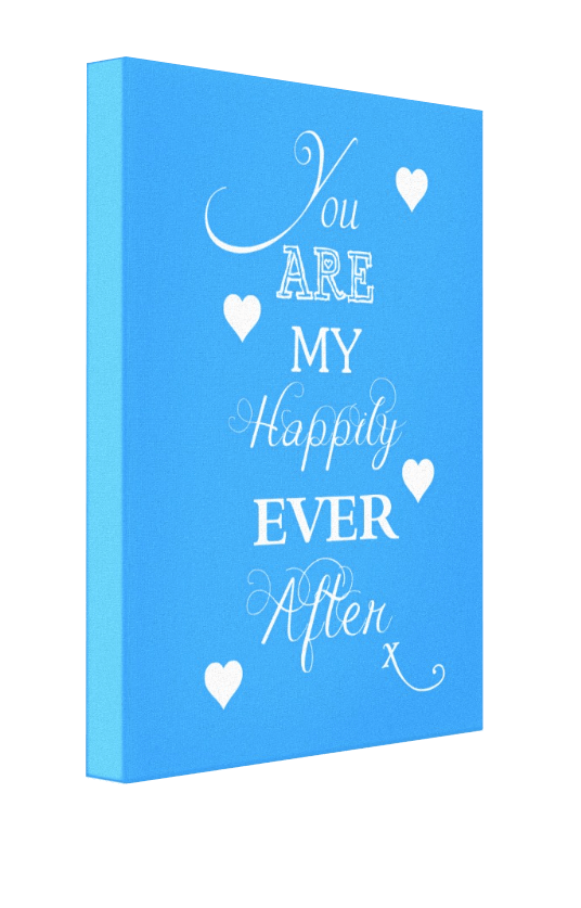 Happily Ever After Canvas - Pics On Canvas
