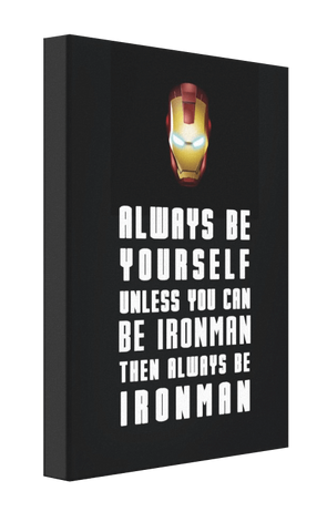 Be Ironman v1 Canvas - Pics On Canvas