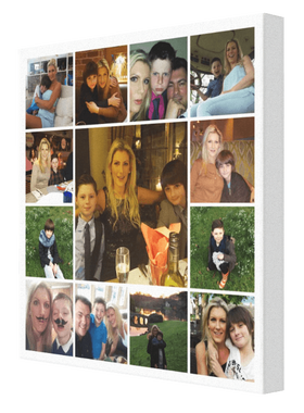 13 Image Tile Sq Collage