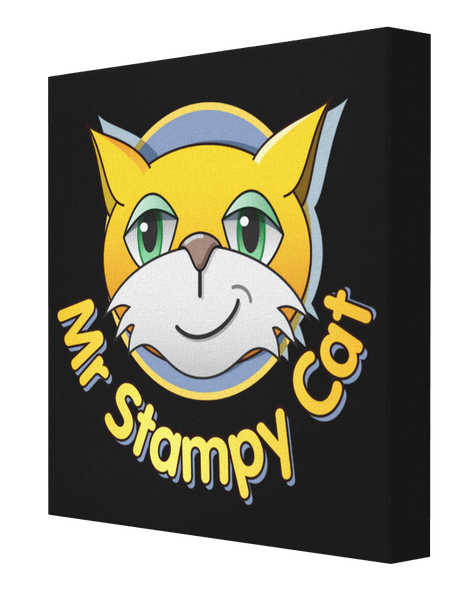 Minecraft Stampy Cat - Pics On Canvas