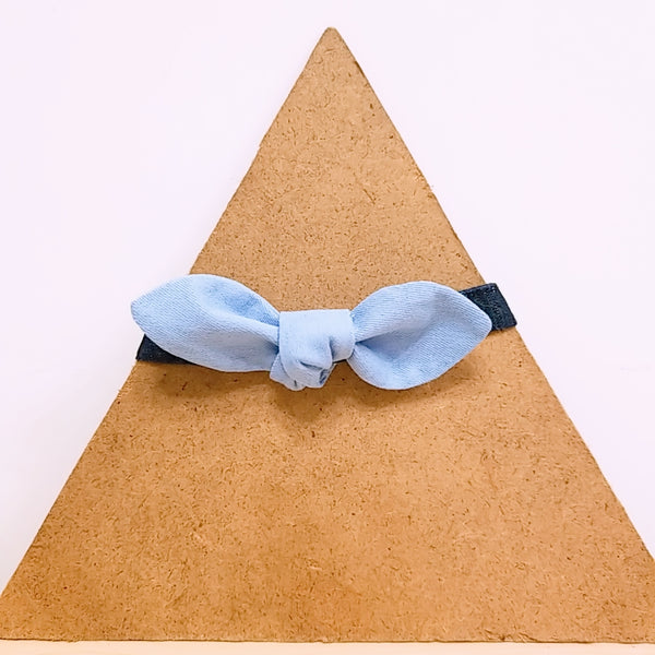 Pet Collar Baby Blue Bow Tie