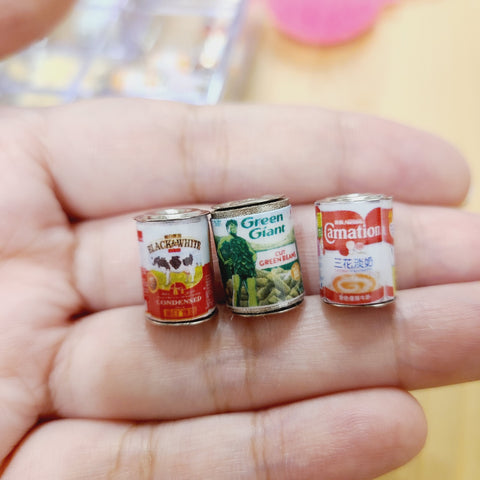 Miniature Canned Food 02