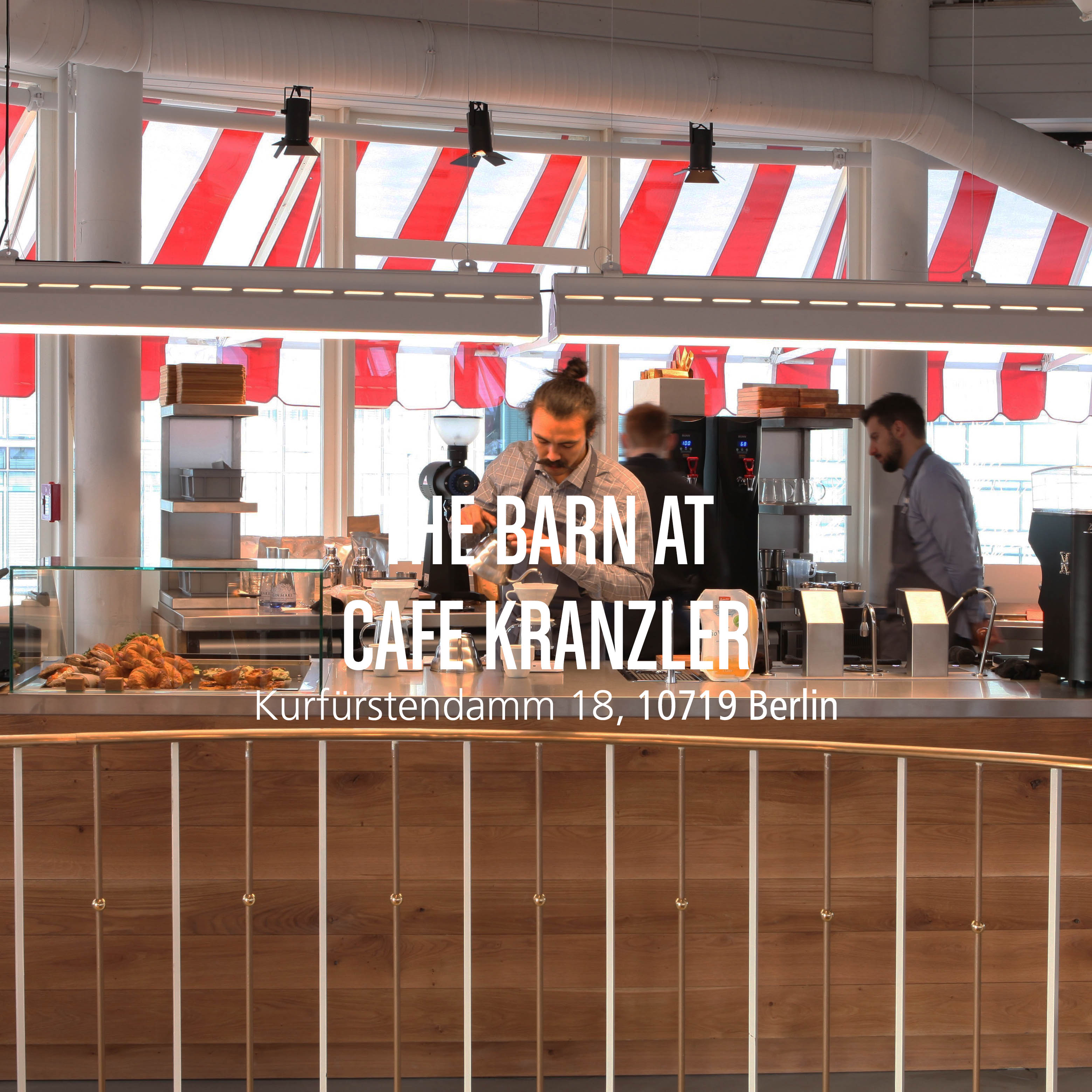 The Barn Coffee Roasters Berlin cafes locations and how to find us