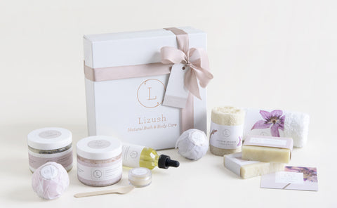 Lavender spa in a box - FREE SHIPPING!