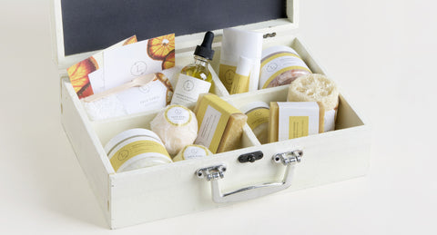 Luxury Natural SPA Gift in a Wooden Box - FREE SHIPPING!