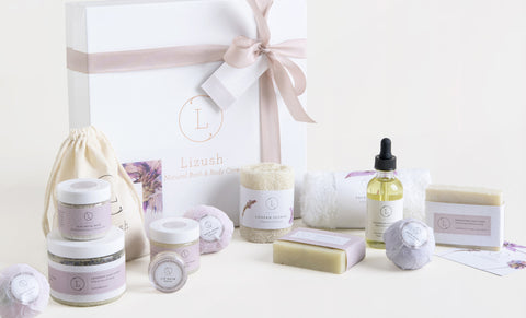 Luxury Natural SPA Gift Lavender Box - FREE SHIPPING!