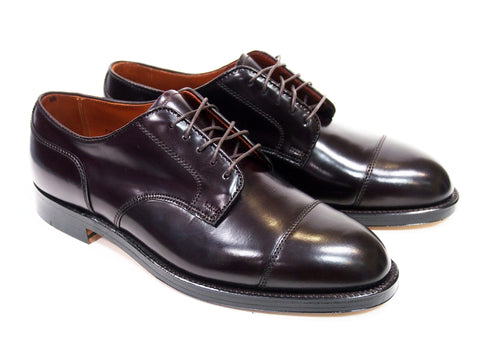 Alden 2160 Color 8 Cordovan Straight Tip Blucher