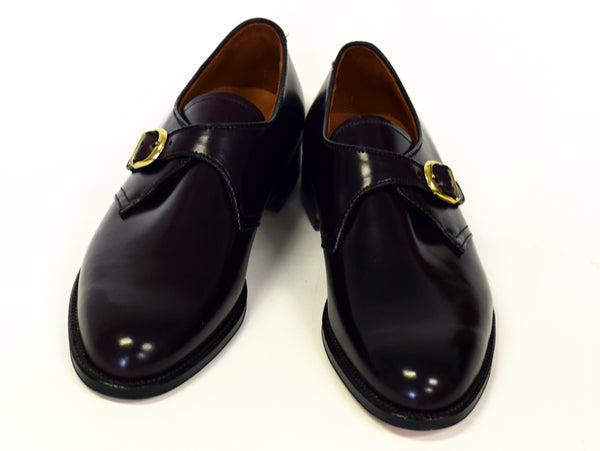 Alden 954 Color 8 Cordovan Monk Strap Oxford