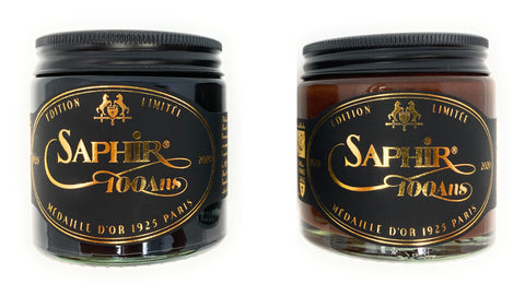 Limited Edition Saphir Medaille d'Or Pommadier Shoe Cream - Available in Two Colors