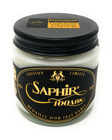Limited Edition Saphir Medaille d'Or Renovateur - Leather Cleaner and Conditioner