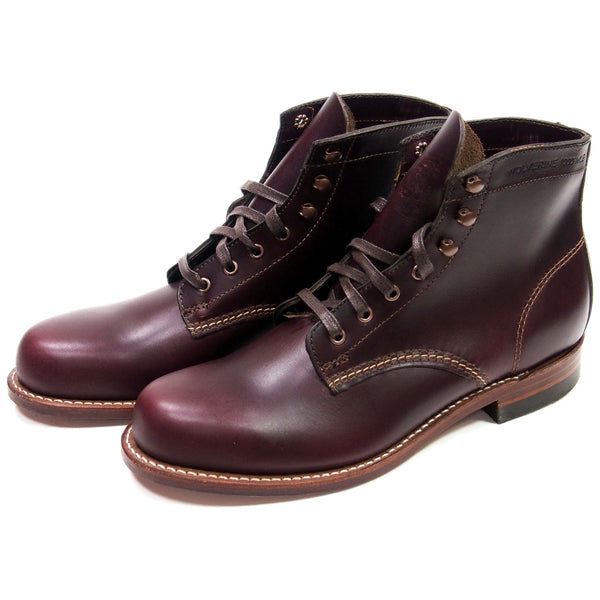 Wolverine 1000 Mile Boots - Cordovan no. 8 - Made in USA