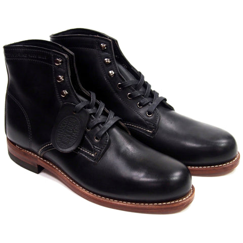 Wolverine 1000 Mile Boots - Black - Made in USA
