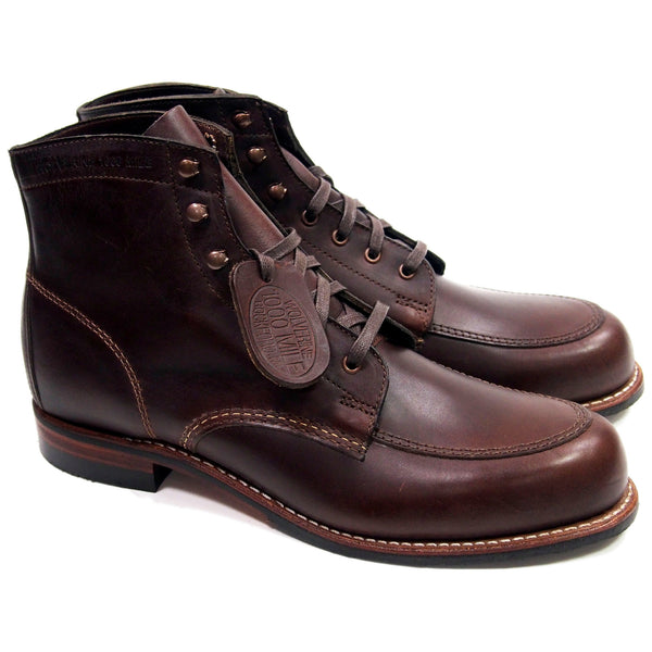 Wolverine Courtland 1000 Mile Boots - Brown - Made in USA