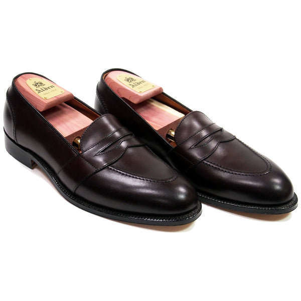 Alden 686 Dark Brown Full Strap Slip-On