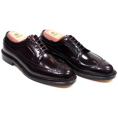 Alden 975 Color 8 Cordovan Long Wing Blucher