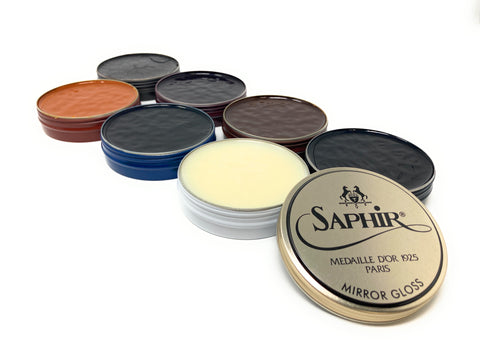 Saphir Medaille d'Or Mirror Gloss Polish - 7 Colors Available