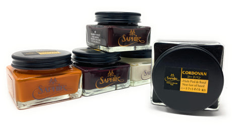 Saphir Medaille d'Or Pommadier Cordovan Cream for Cordovan Leather - All Colors