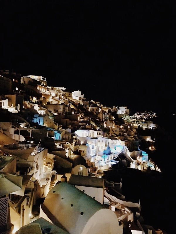 Where In The World Is Wakened: Santorini Greece