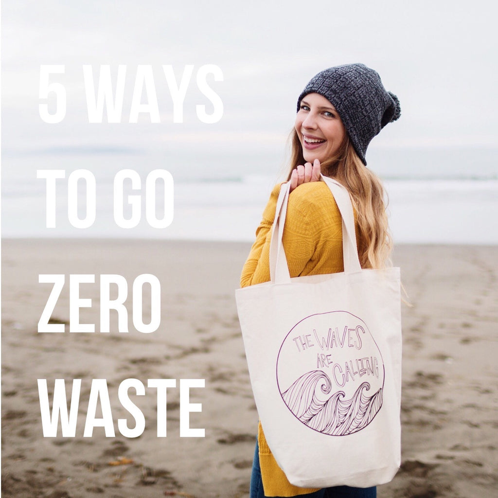 5 Tips for Going 'Zero Waste'
